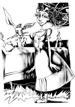 Alicia y Conejo 1