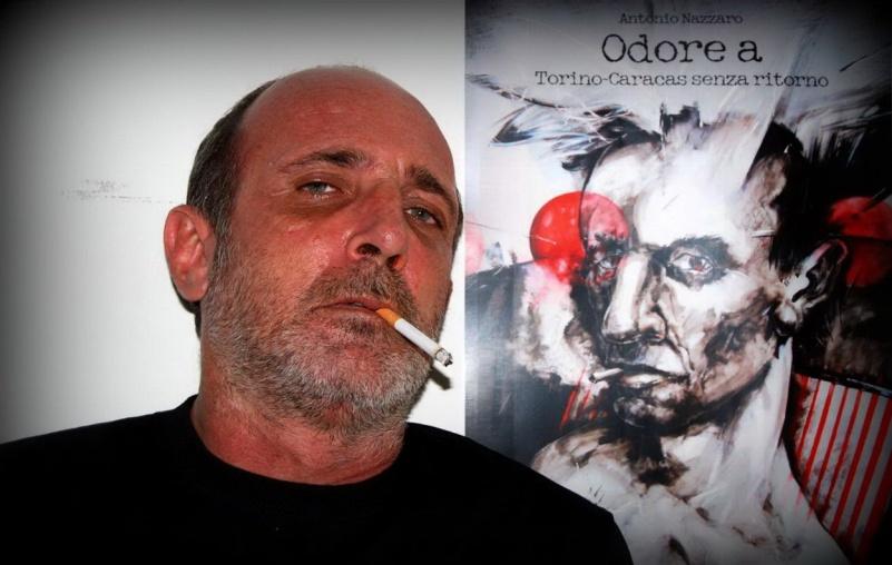 Antonio Nazzaro y Portada del Libro Odore a