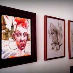 italian writer escritor italiano venezuela caracas home house hogar casa privatecollection coleccionprivada artgallery galeriadearte