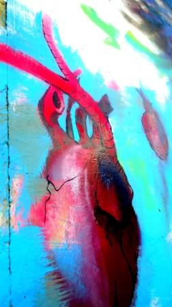 MOS meetingofstyles encuentrodeestilos graff graffiti mural muralpainting wall wallpainting venezuela aragua maracay centroamerica heart corazon