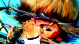 MOS meetingofstyles encuentrodeestilos graff graffiti mural muralpainting wall wallpainting venezuela aragua maracay centroamerica mujer woman
