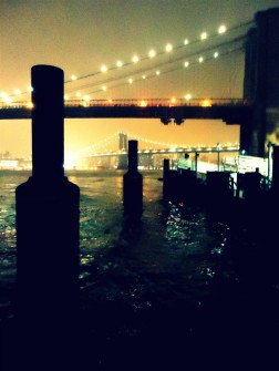 brooklyn newyork newyorkcity ciudad bigapple city night noche USA NYC bridge puente