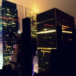 newyork newyorkcity ciudad bigapple city night noche USA NYC skylines edificios