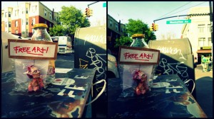 freeartfriday freeart thestreetisourgallery FAF project proyecto little sculptures women heads cabeza mujeres city ciudad freeart brooklyn USA greenpoint