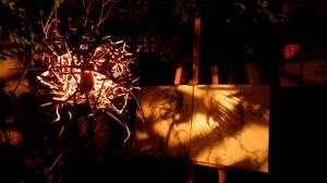 lamp lampara night noche luz light weld welding metal waste recycling drawings dibujos