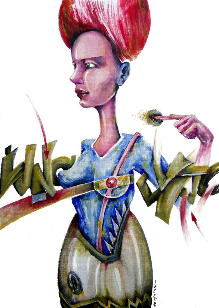 art arte pintura painting paper papel oil oleo graff graffiti artist artista mujer woman portrait