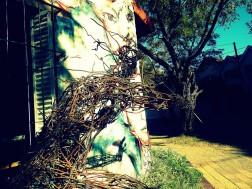 mural muralpainting wall wallpainting street streetart urban urbanart streetphotography thestreetisourgallery art arte artist artista sculpture escultura metal weld welding recycling reciclado