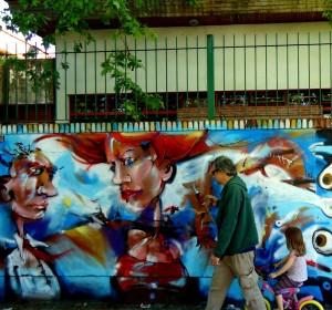 mural muralpainting wall wallpainting street streetart urban urbanart streetphotography thestreetisourgallery art arte artist artista people gente transeuntes