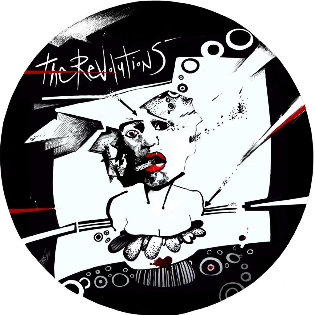 digital illsutration ilustracion dibujo draw drawing blackandwhite blancoynegro red rojo musicos musica musician artcover cover parche bateria