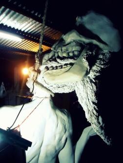 decay clay arcilla priming imprimacion lifesize woman sculpture escultura mujer tamañonatural resin resinpolyester resinapolyester skull craneo calavera