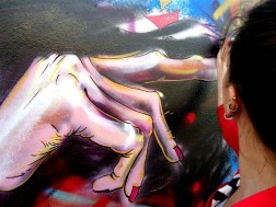 mural muralpainting wall wallpainting street streetart urban urbanart streetphotography thestreetisourgallery art arte artist artista woman mujer mano hand