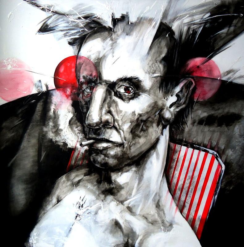 dibujo drawing paint painting redmoon hombre retrato man portrait camus albertcamus elextranjero alba