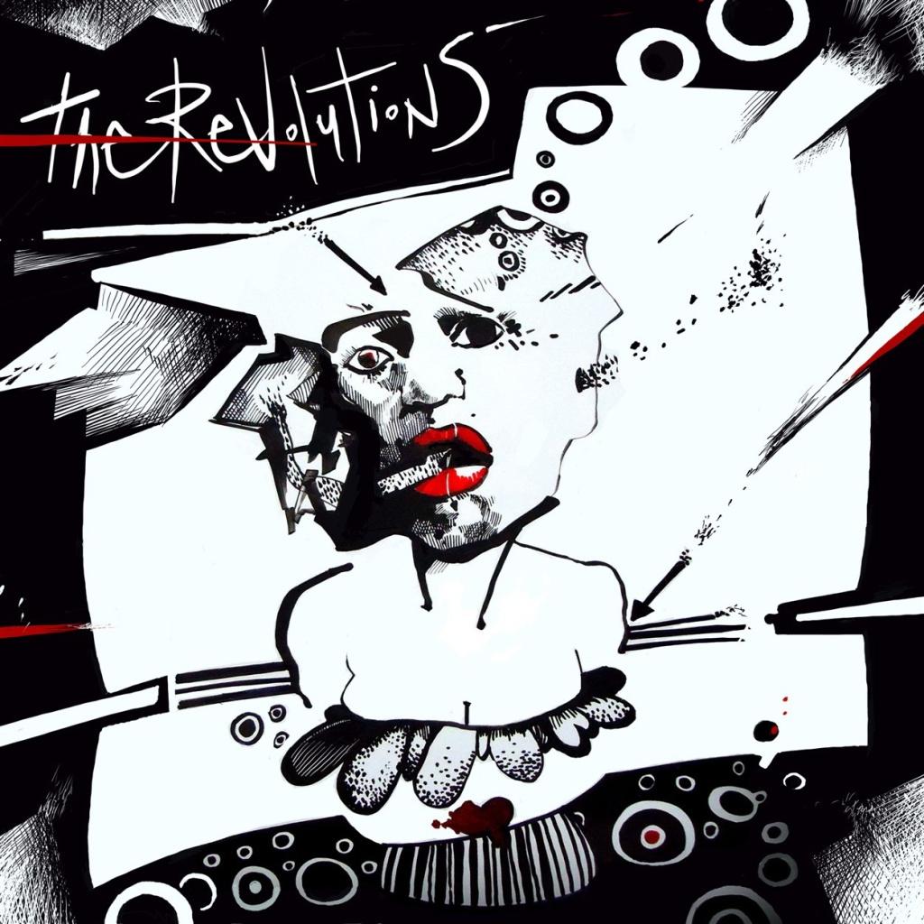 digital illsutration ilustracion dibujo draw drawing blackandwhite blancoynegro red rojo musicos musica musician artcover cover woman mujer smoke fumar