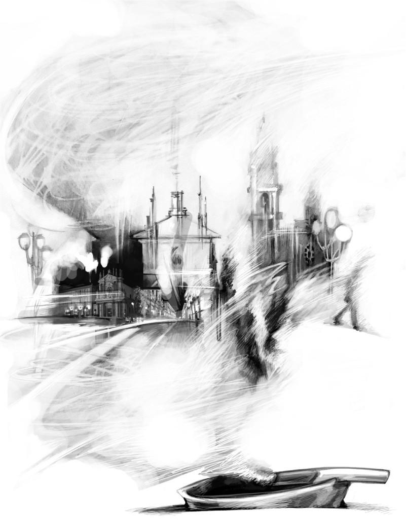 Torino blanco y negro