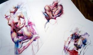 23 - Oils on paper